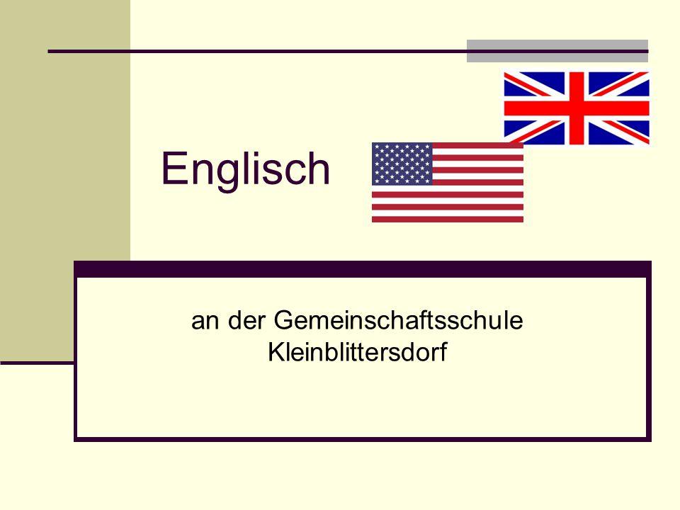 Englisch an der Gemeinschaftsschule Kleinblittersdorf