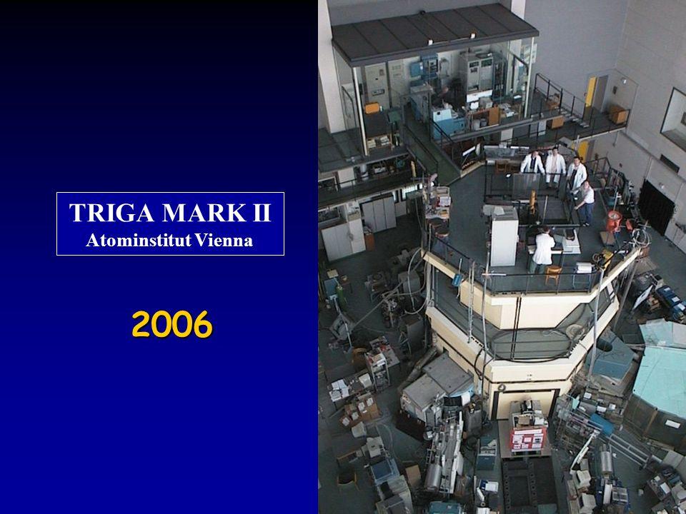 2006 TRIGA MARK II Atominstitut Vienna