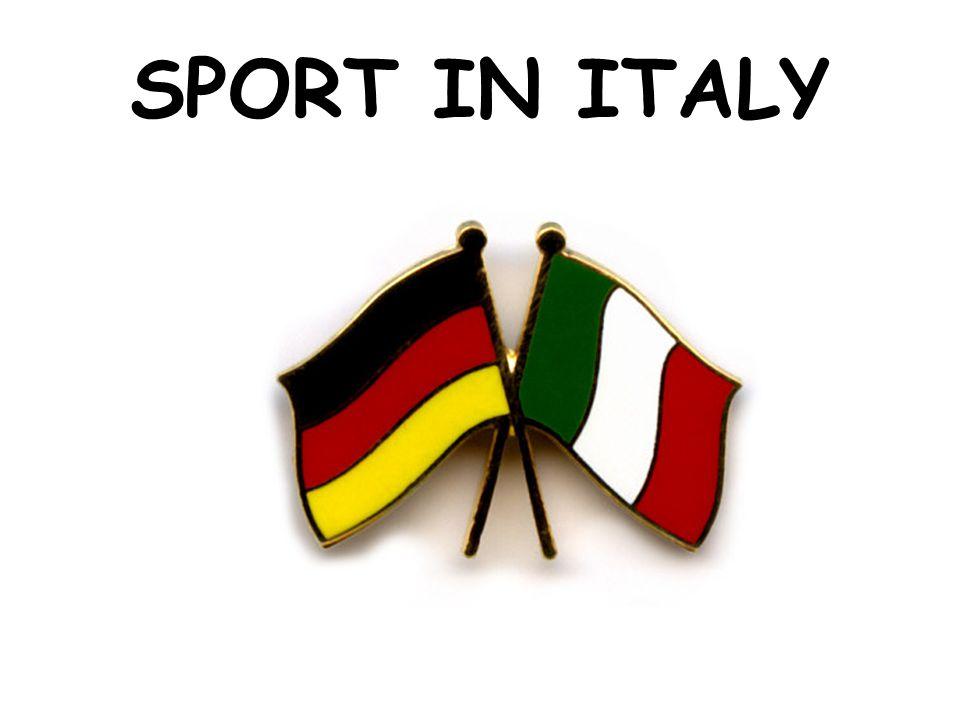 Einleitung - Introduction Auch in Italien werden verschiedene Sportarten betrieben.