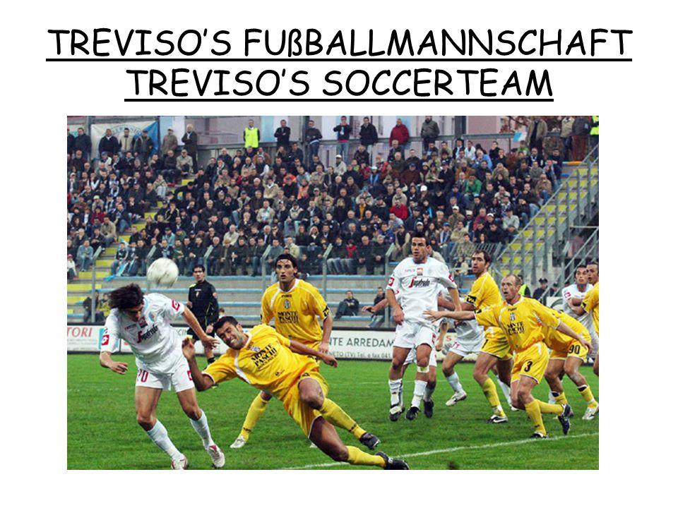 TREVISO'S FUßBALLMANNSCHAFT TREVISO'S SOCCERTEAM