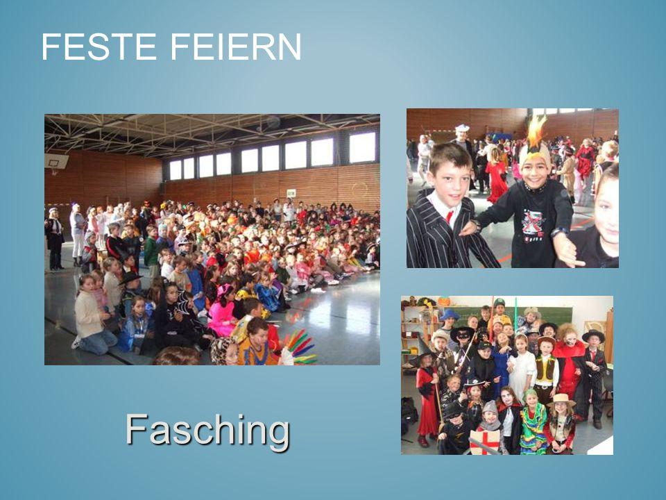 FESTE FEIERN Fasching
