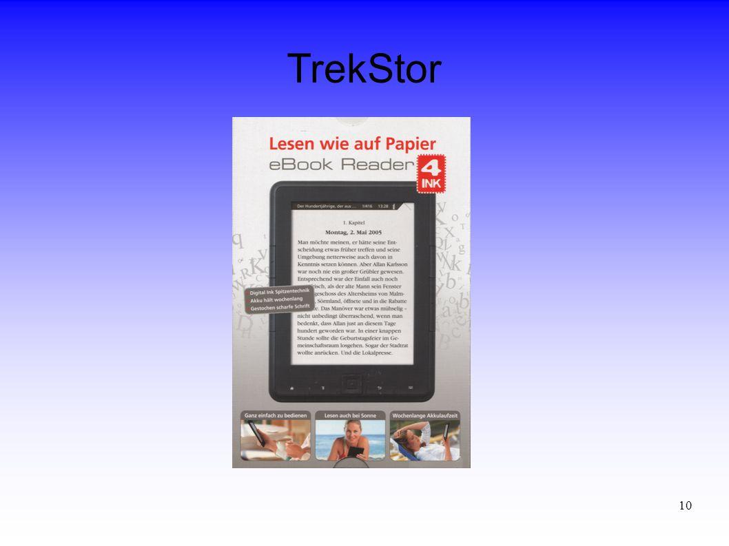 10 TrekStor