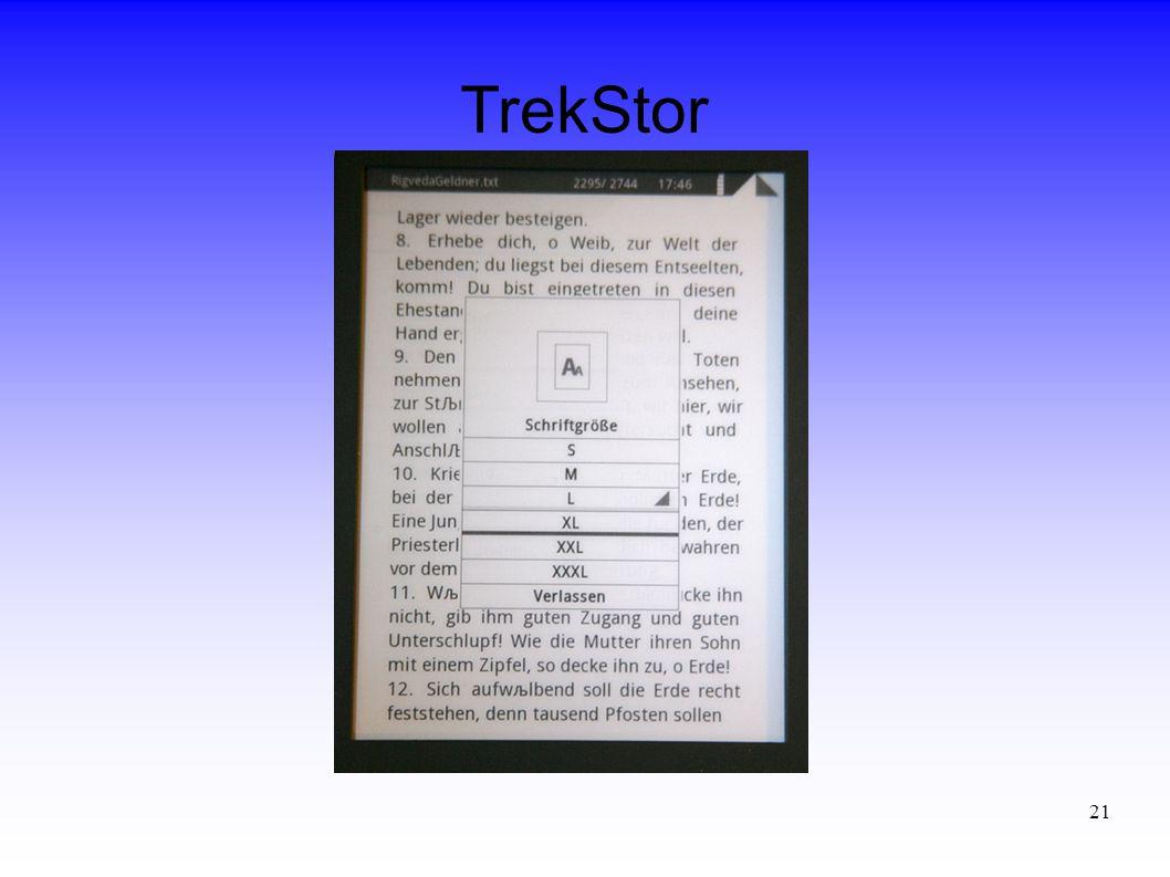 21 TrekStor