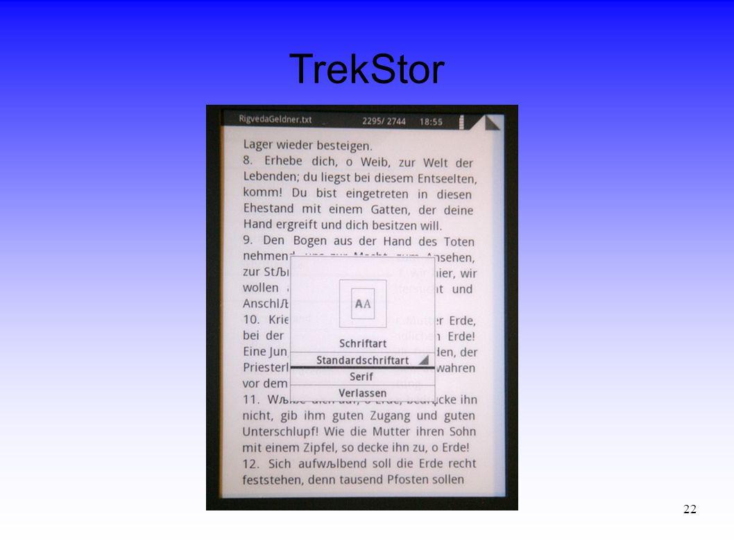 22 TrekStor