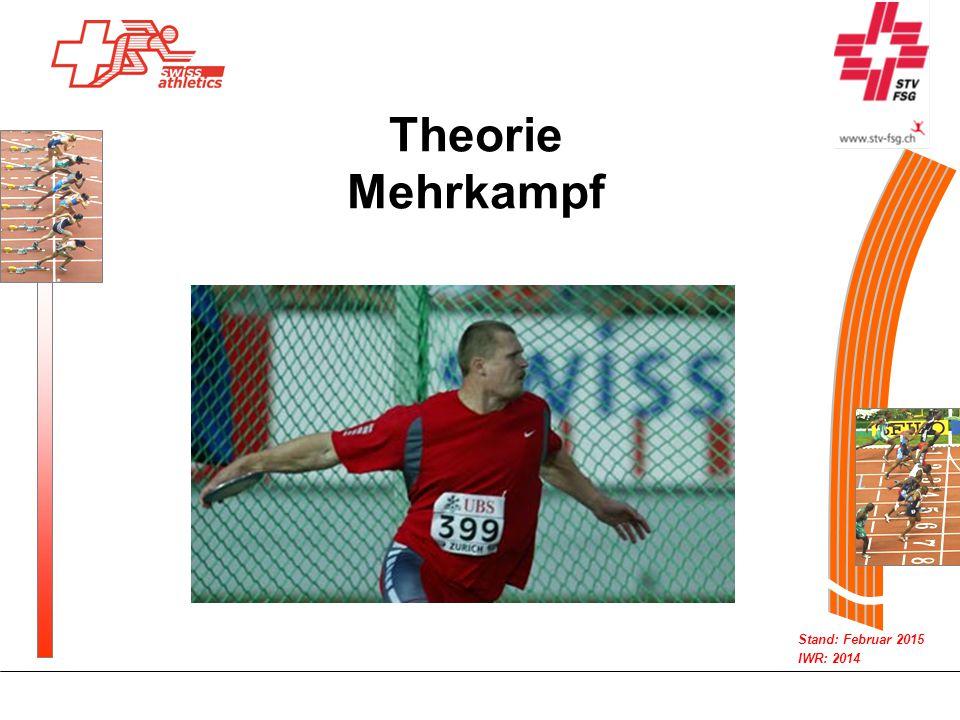 Stand: Februar 2015 IWR: 2014 Theorie Mehrkampf
