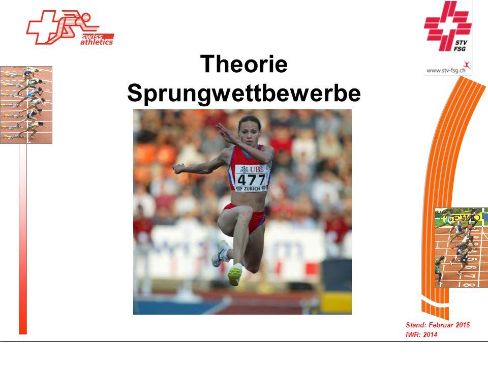 Stand: Februar 2015 IWR: 2014 Theorie Sprungwettbewerbe