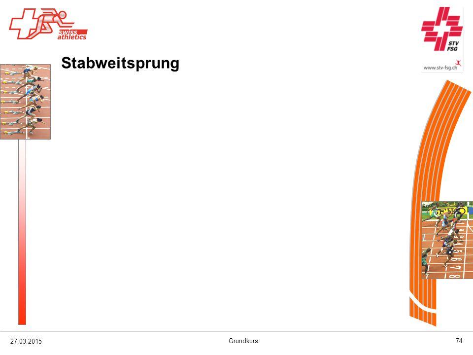 27.03.2015 Grundkurs 74 Stabweitsprung