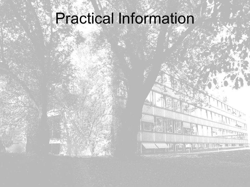 MPG Grossprojekte in der Teilchenphysik CPT Sektionssitzung 21.10.2004 S.Bethke MPI für Physik, München Practical Information