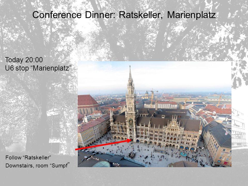 MPG Grossprojekte in der Teilchenphysik CPT Sektionssitzung 21.10.2004 S.Bethke MPI für Physik, München Conference Dinner: Ratskeller, Marienplatz Tod