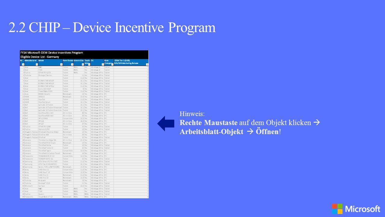 Wie kann man am OEM Reseller Incentive teilnehmen.