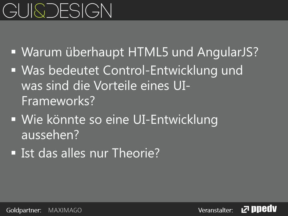 Goldpartner: Veranstalter: Controls in HTML5