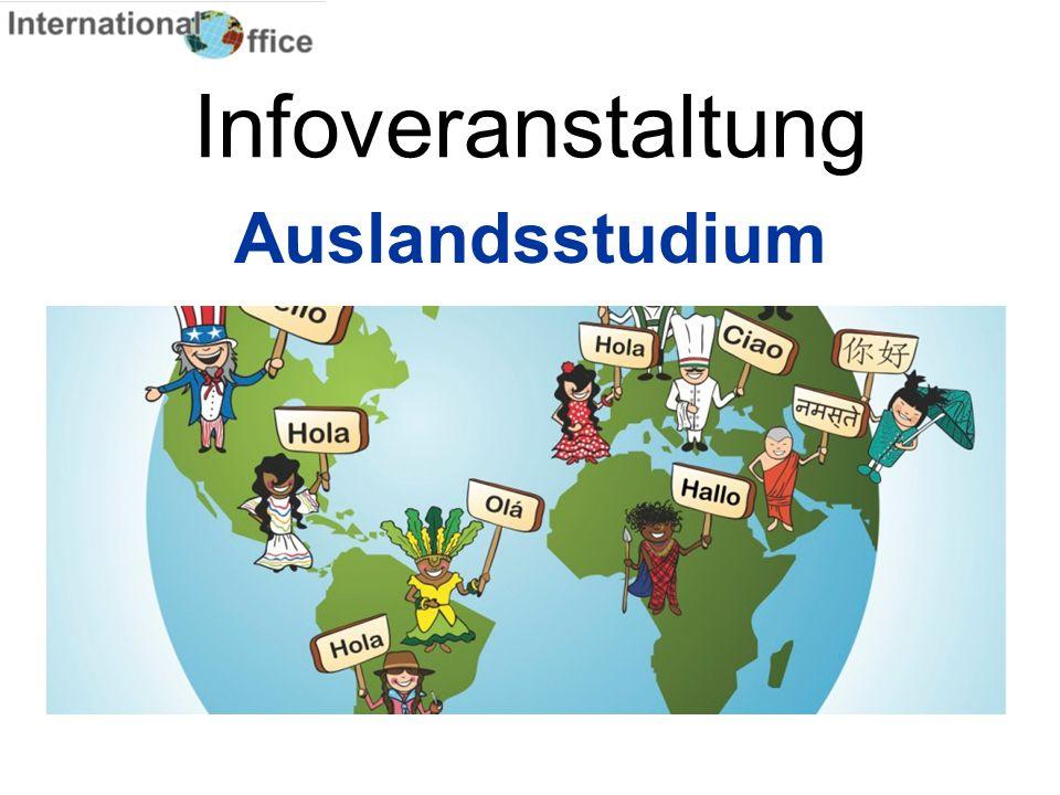 Infoveranstaltung Auslandsstudium