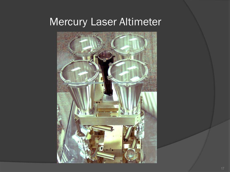 Mercury Laser Altimeter 17