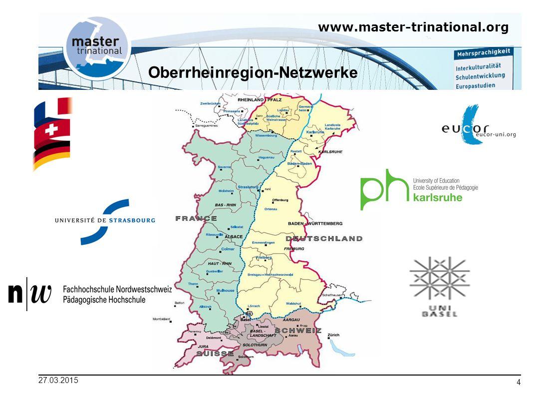 www.master-trinational.org 27.03.2015 5 Aufbau und Ablauf 1.Semester Straßburg -- - 2.