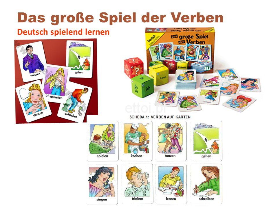 Das große Spiel der Verben Deutsch spielend lernen