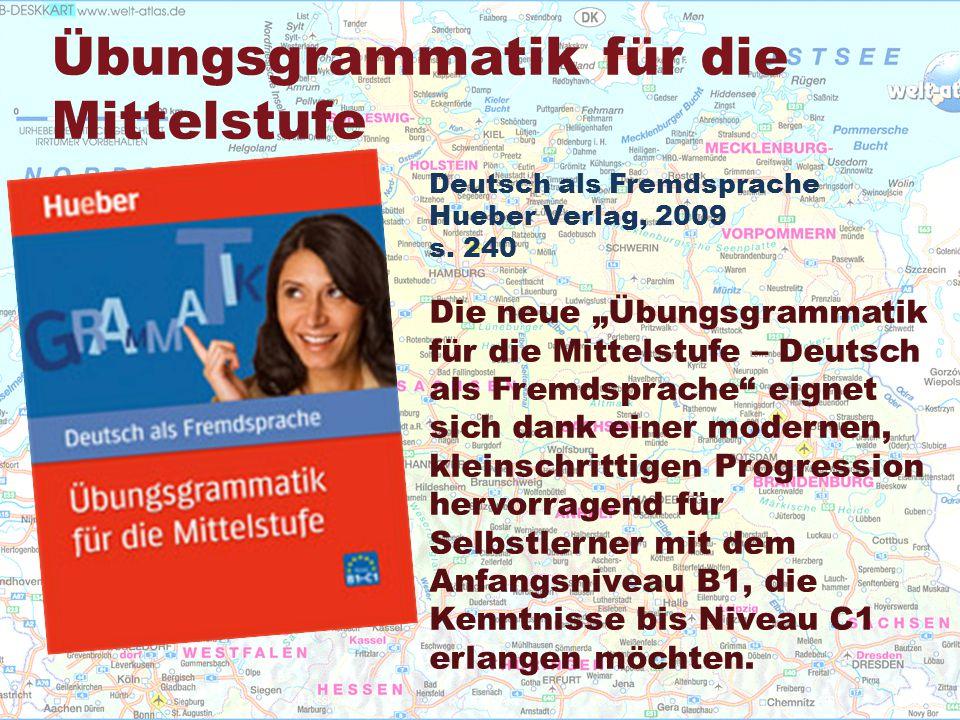 Deutsch als Fremdsprache Hueber Verlag, 2009 s.