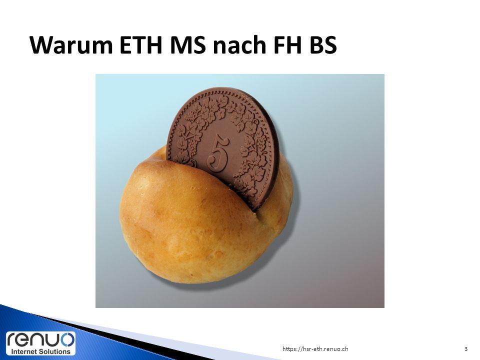 https://hsr-eth.renuo.ch3 Warum ETH MS nach FH BS