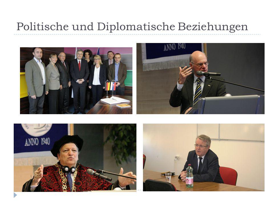 Politische und Diplomatische Beziehungen