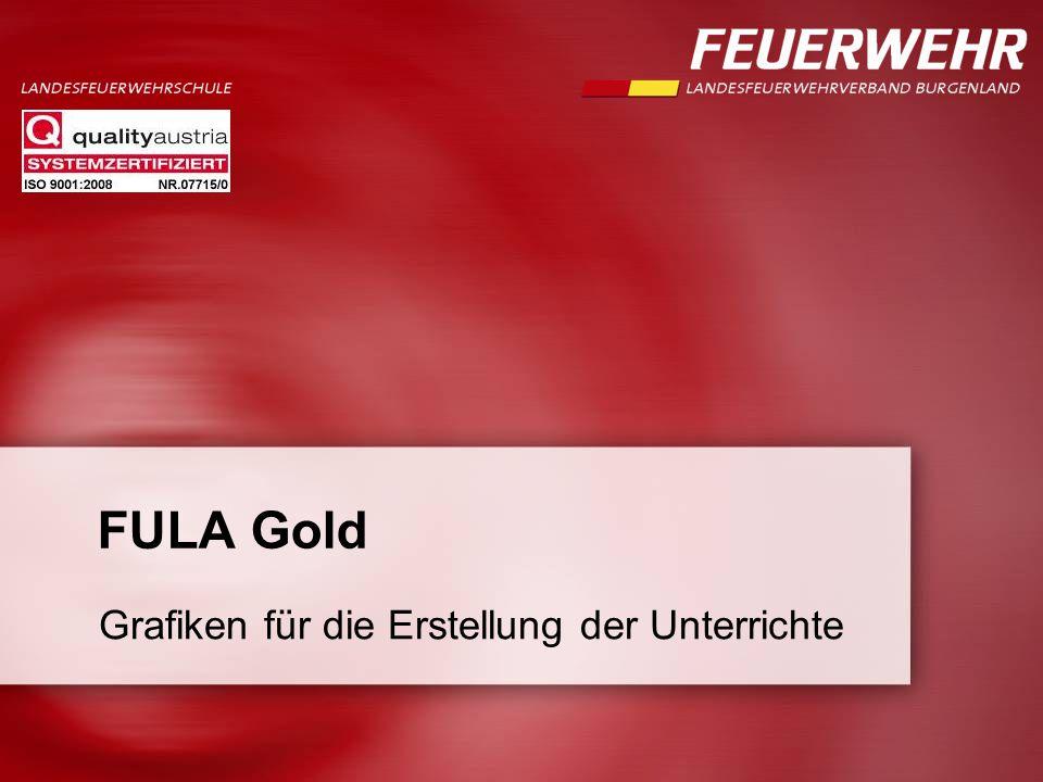 FULA Gold Grafiken für die Erstellung der Unterrichte