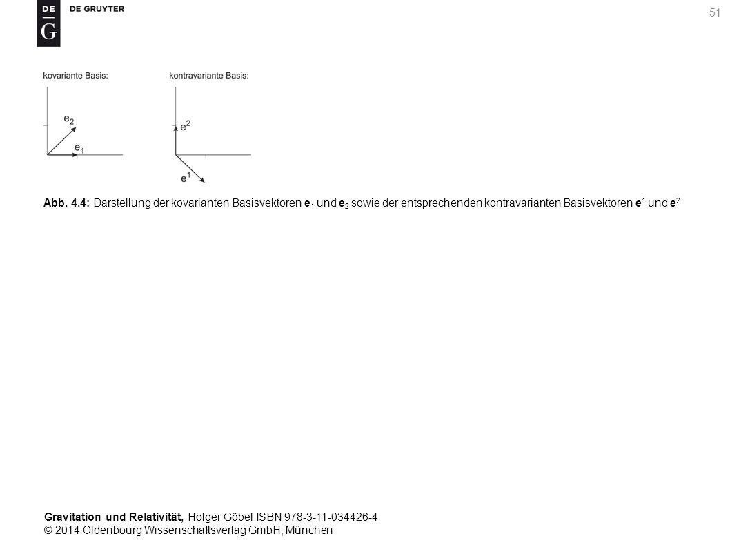Gravitation und Relativität, Holger Göbel ISBN 978-3-11-034426-4 © 2014 Oldenbourg Wissenschaftsverlag GmbH, München 51 Abb. 4.4: Darstellung der kova