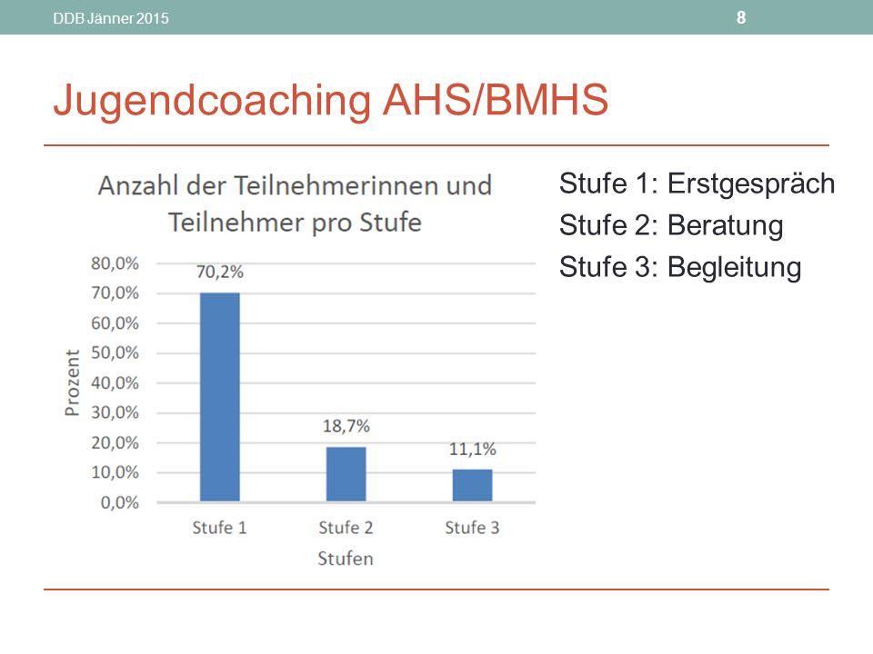 DDB Jänner 2015 9 Jugendcoaching AHS/BMHS