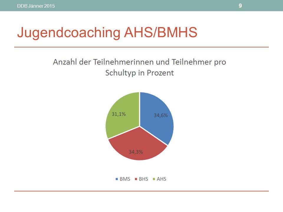 DDB Jänner 2015 10 Jugendcoaching AHS/BMHS