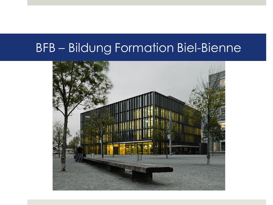BFB – Bildung Formation Biel-Bienne