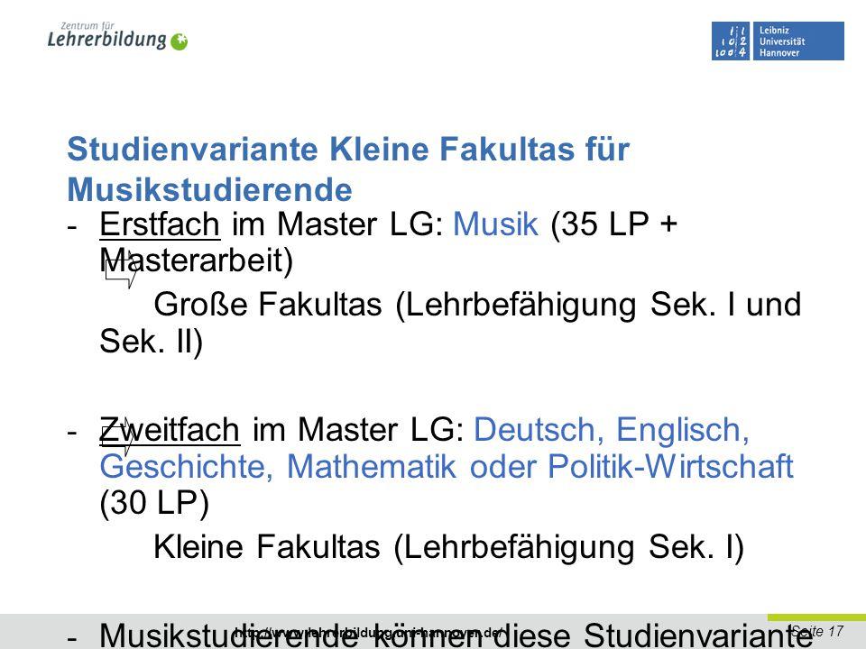 Seite 18 http://www.lehrerbildung.uni-hannover.de/ Sprachnachweise nach Nds.