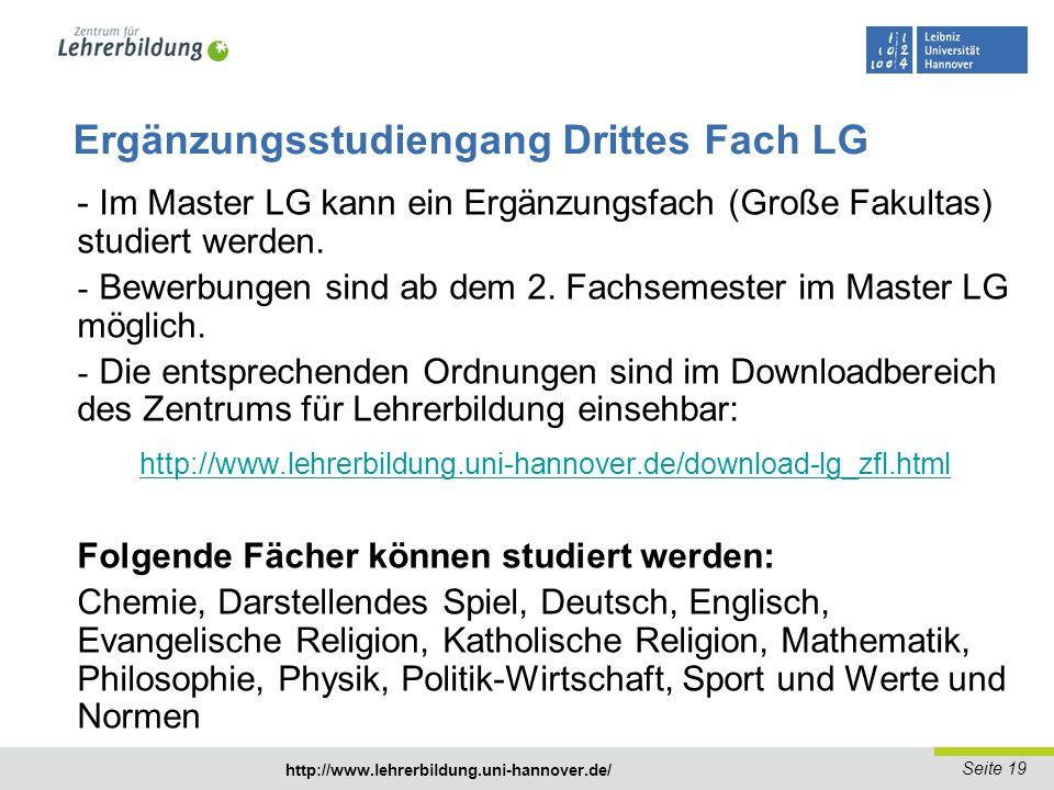 Seite 20 http://www.lehrerbildung.uni-hannover.de/ http://www.lehrerbildung.uni-hannover.de