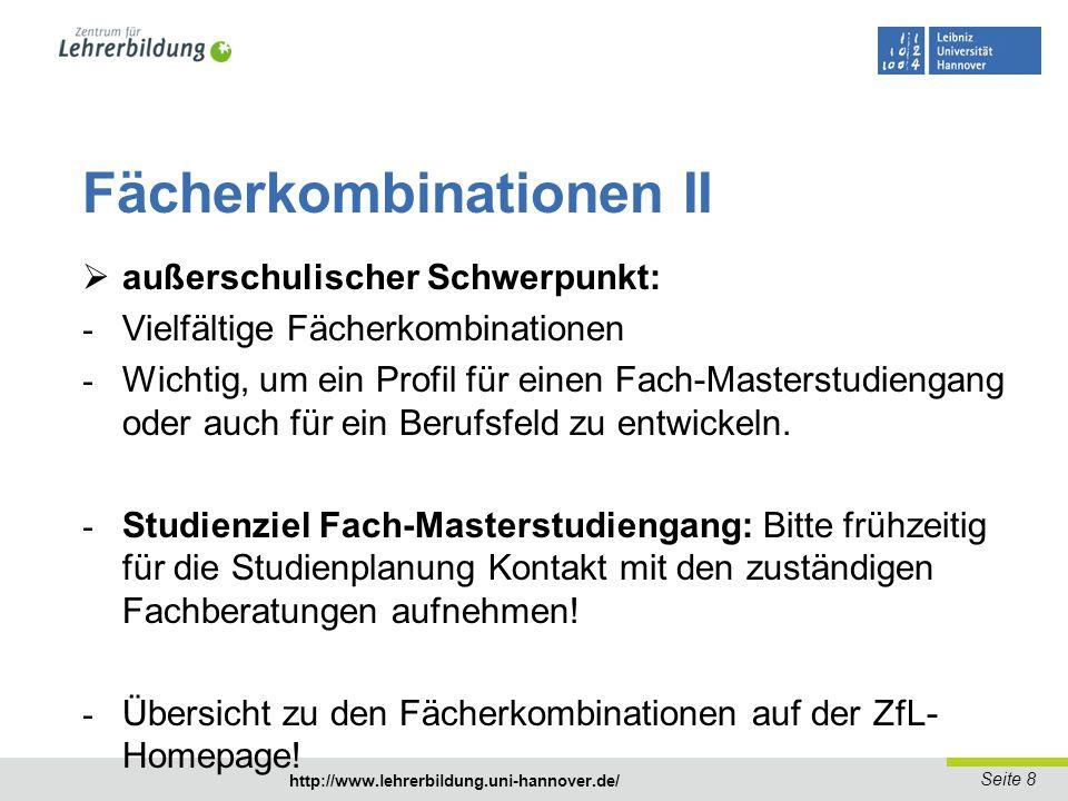 Seite 9 http://www.lehrerbildung.uni-hannover.de/ Zugangsvoraussetzungen I - Bewerbungsschluss: 15.07.