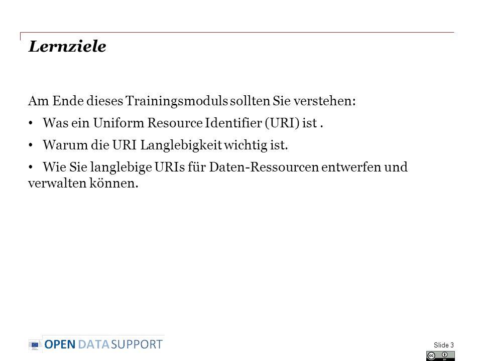 Inhalt Dies Modul enthält...Eine Einführung in die Uniform Resource Identifier (URI).