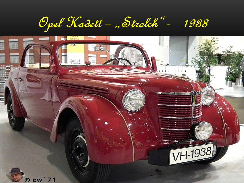 Opel Olympia – 1937