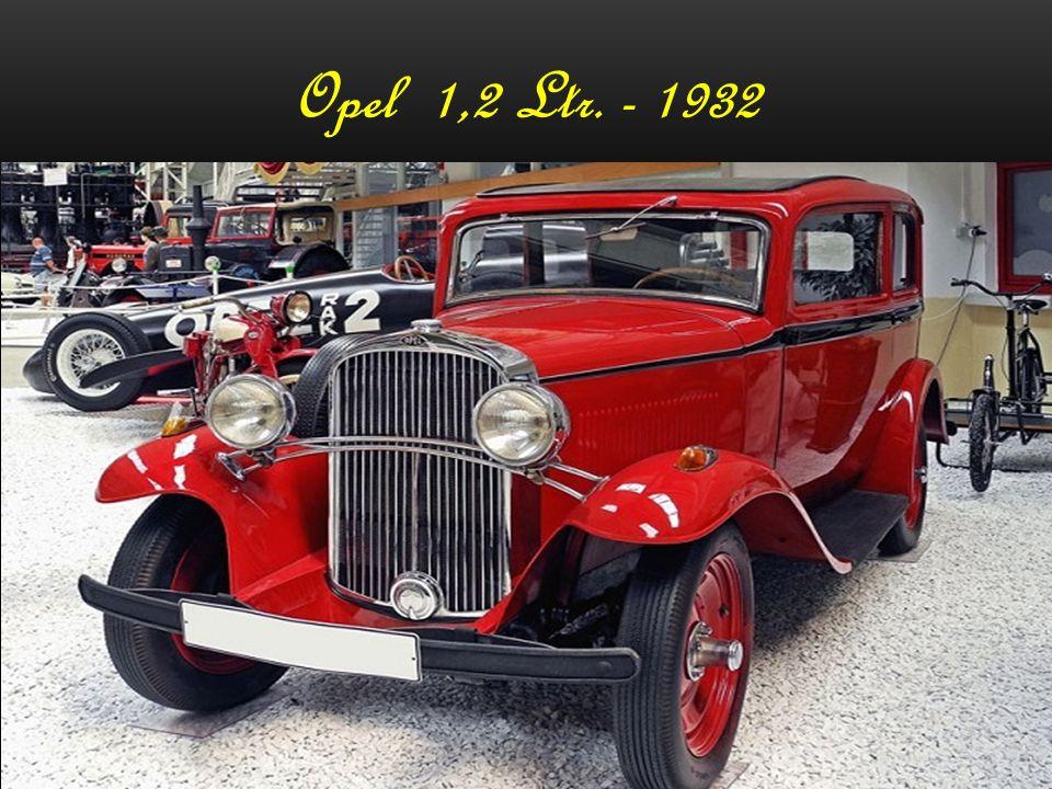 "Opel Kadett – ""Strolch"" - 1938"