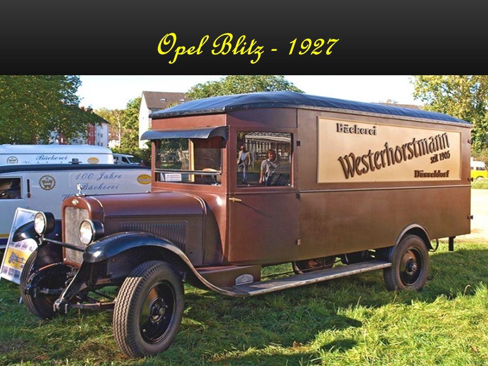 Opel Olympia - 1952