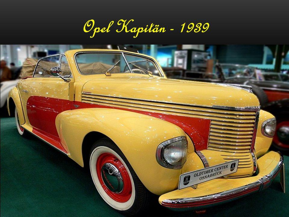 Opel Kapitän - 1954