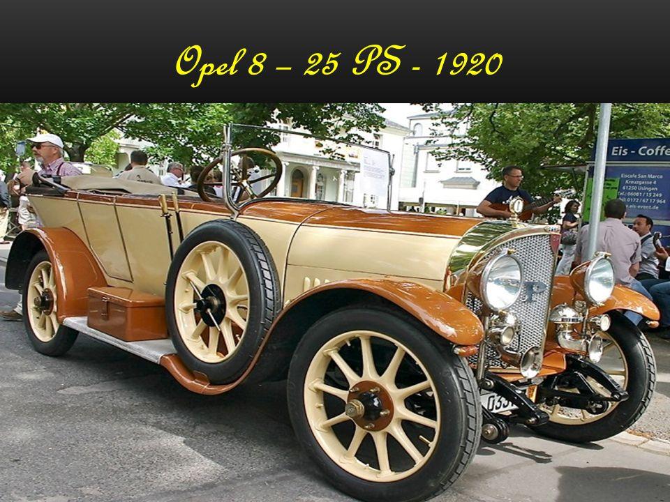 Opel`s schöne Oldtimer Oräsentiert von Günter
