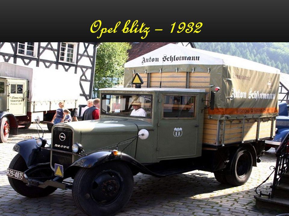Opel Olympia - 1950