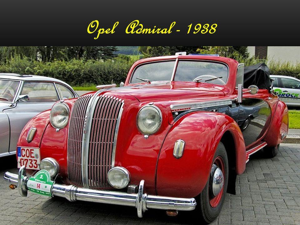 Opel 6 Pullmann - 1936