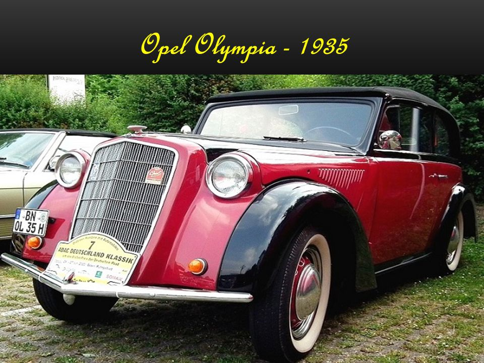 Opel Super 6 - 1938
