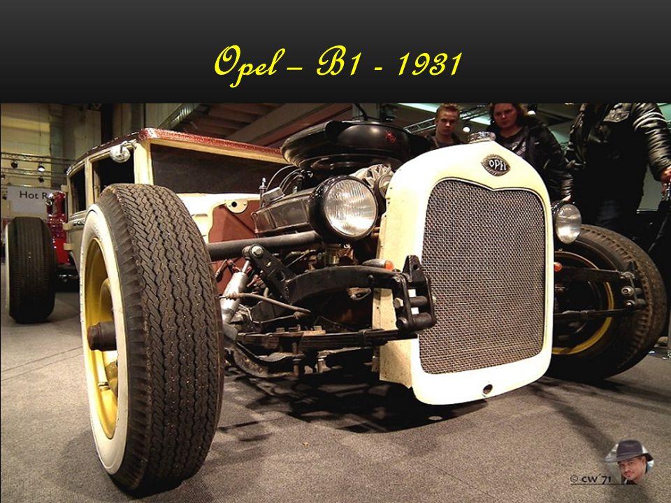 Opel – B1 - 1931