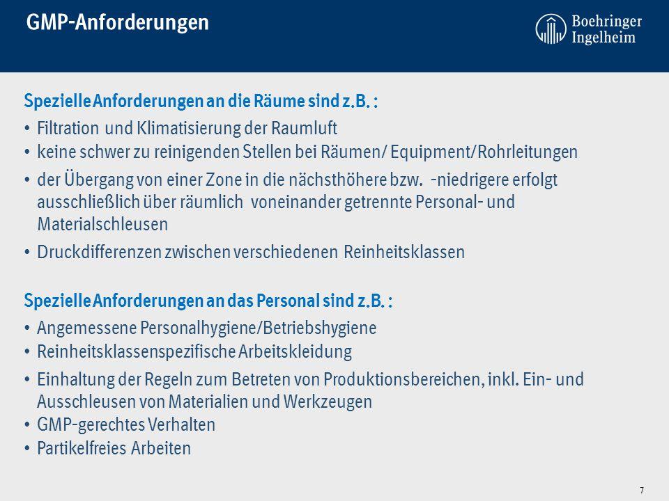 """GMP-gerechte Dokumentation EU-GMP-Leitfaden """"Eine gute Dokumentation ist ein wesentlicher Teil der Qualitätssicherung …..… Protokolle müssen fehlerfrei sein und schriftlich vorliegen."""