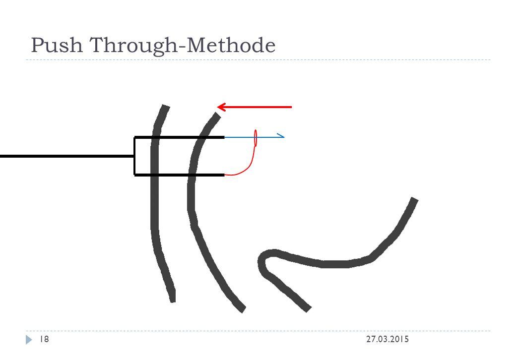 Push Through-Methode 27.03.201518