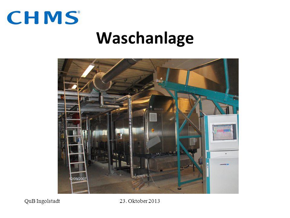 Waschanlage QuB Ingolstadt 23. Oktober 2013