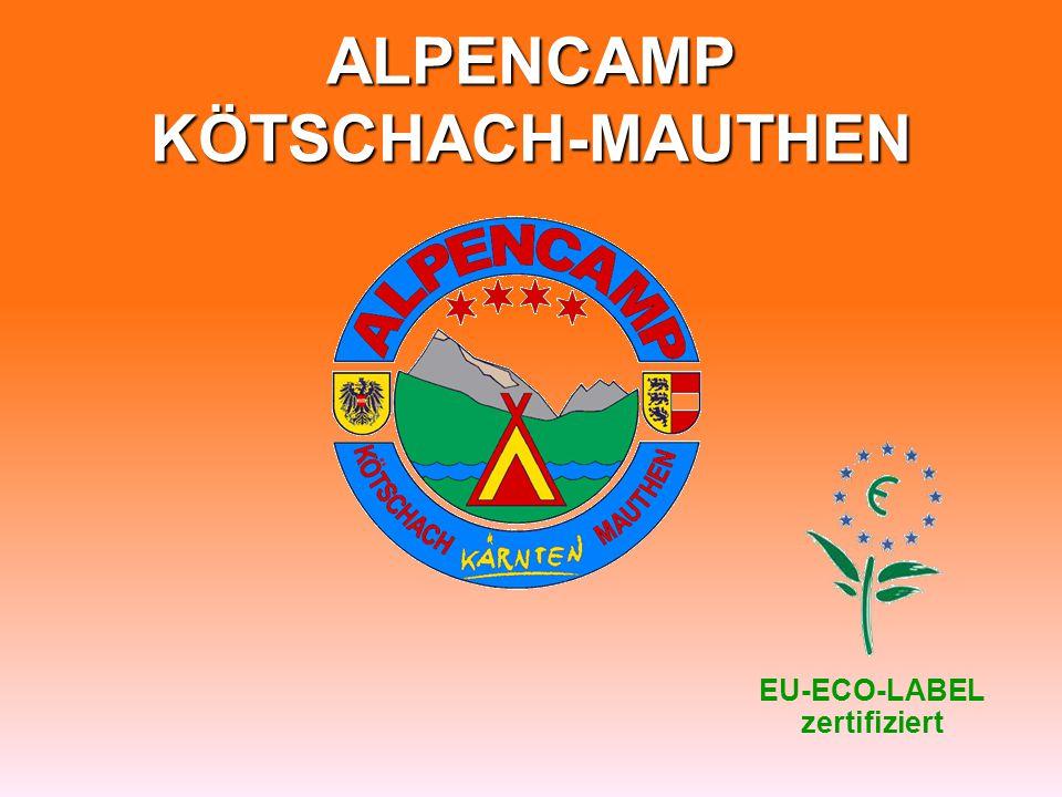 ALPENCAMP KÖTSCHACH-MAUTHEN EU-ECO-LABEL zertifiziert