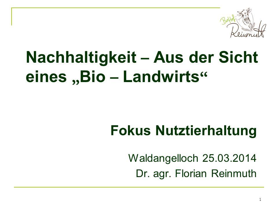 2 Betriebsspiegel Familienbetrieb seit anno dazumal Waldangelloch ~75ha, ca.