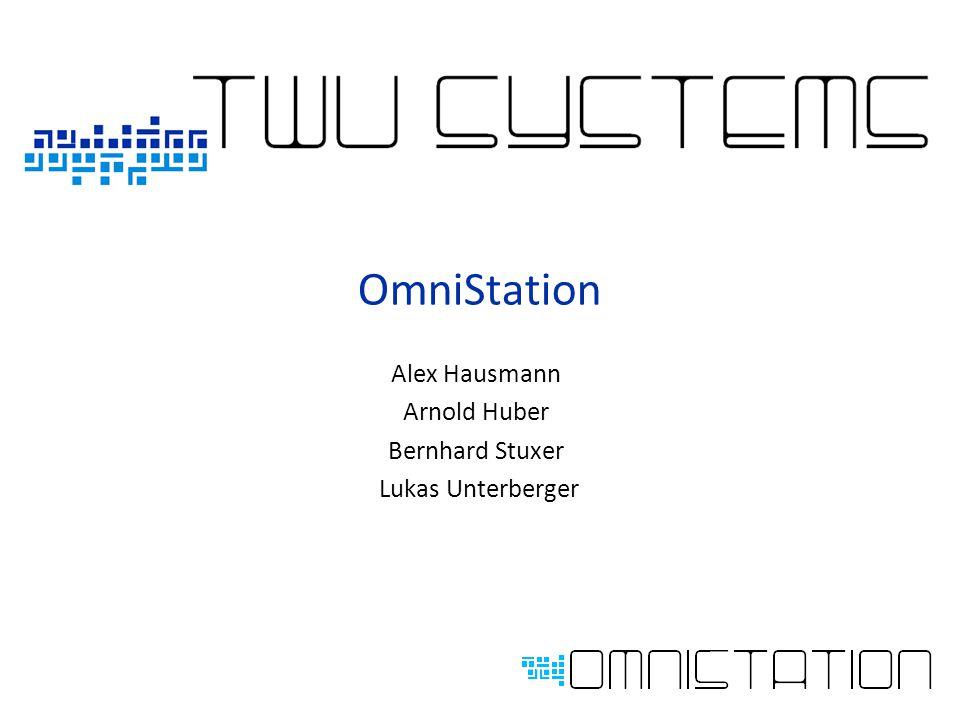 OmniStation Alex Hausmann Arnold Huber Bernhard Stuxer Lukas Unterberger