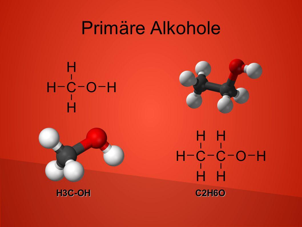 Primäre Alkohole H3C-OHC2H6O