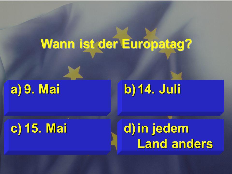 © Stefan Mayer / EK 2010 Wann ist der Europatag.c)15.