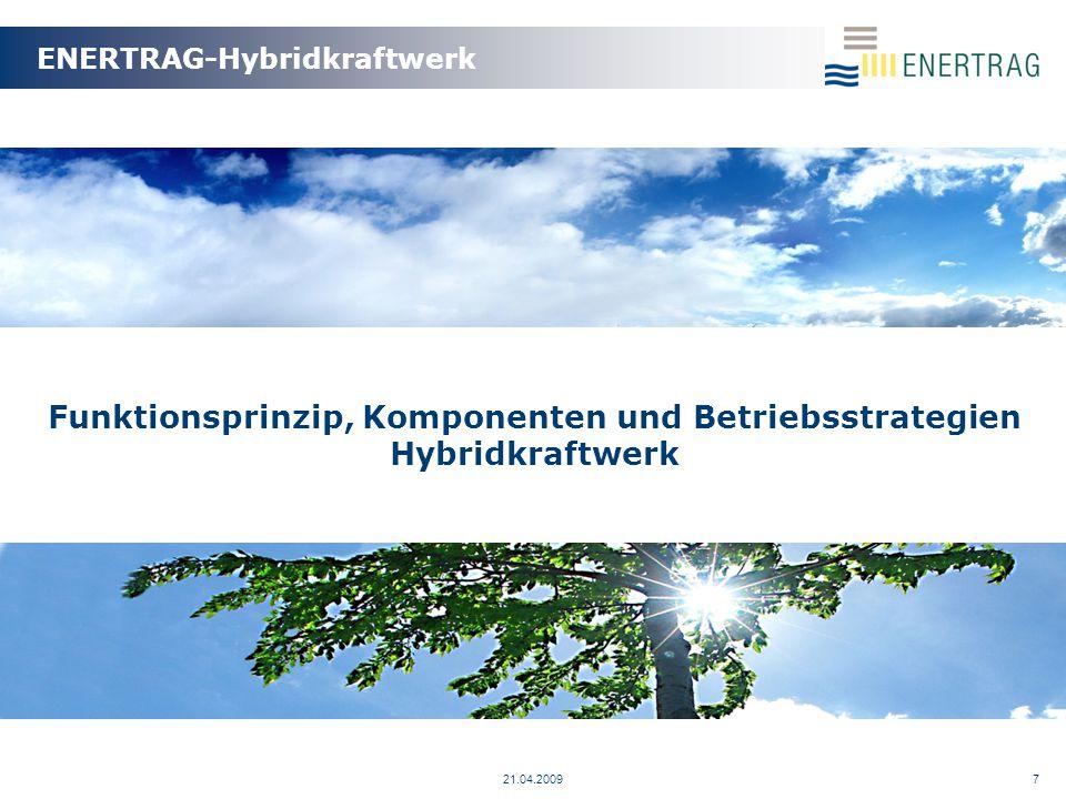 21.04.20098 Funktionsprinzip Hybridkraftwerk