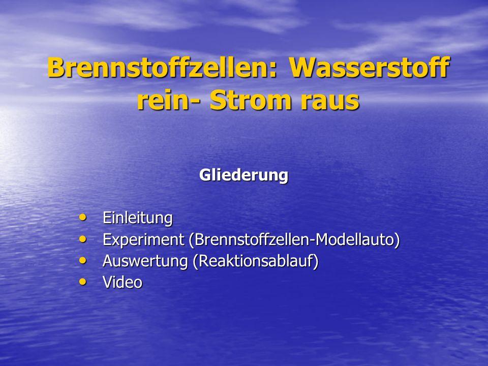 Quellen Informationen von Frau Hoy Informationen von Frau Hoy http://www.uni-marburg.de/fb15/ag- roling/forschung http://www.uni-marburg.de/fb15/ag- roling/forschung http://www.uni-marburg.de/fb15/ag- roling/forschung http://www.uni-marburg.de/fb15/ag- roling/forschung http://de.wikipedia.org/wiki/Brennstoffzelle http://de.wikipedia.org/wiki/Brennstoffzelle http://de.wikipedia.org/wiki/Brennstoffzelle www.diebrennstoffzelle.de/.../funktion.shtml www.diebrennstoffzelle.de/.../funktion.shtml www.diebrennstoffzelle.de/.../funktion.shtml www.chorum.de/ www.chorum.de/ www.chorum.de/